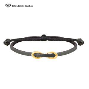 دستبند چرمی طلا