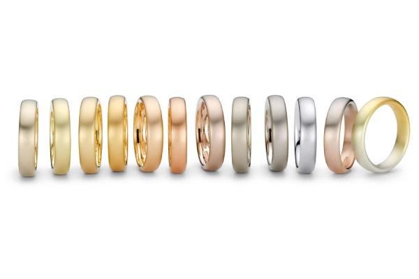 معرفی رنگ های مختلف طلا