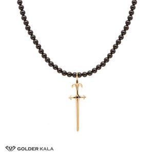 گردنبند طلا طرح شمشیر