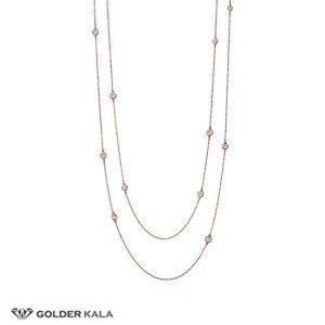 گردنبند طلا رو لباسی