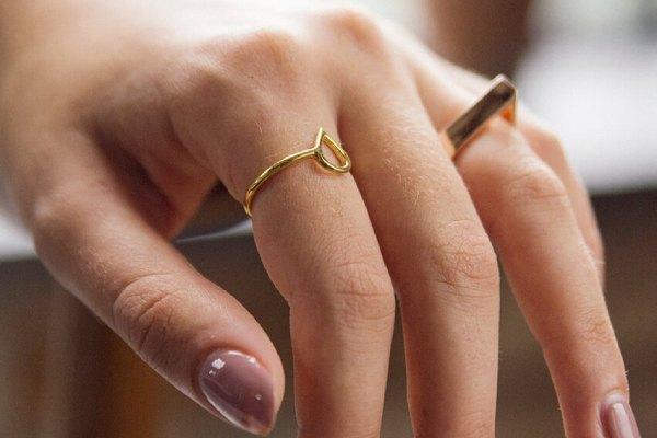معنی انگشتر در انگشت اشاره