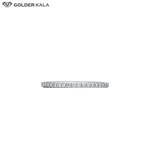 فروش انگشتر طلا سفید زنانه کد 3751