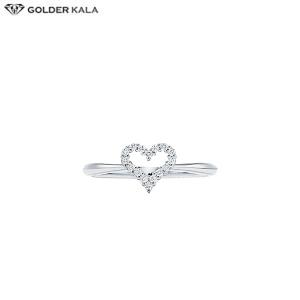 قیمت انگشتر زنانه طلا سفید کد 3755