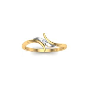 خرید انگشتر طلای زنانه ازدواج کد 4043