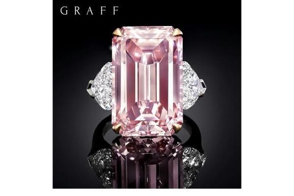 الماس Emerald-Cut Graff