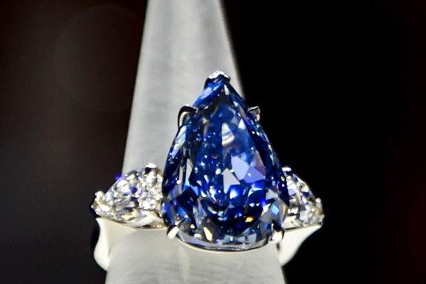 انگشتر Winstone blue