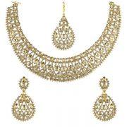 خرید نیم ست طلا هندی کد 4190