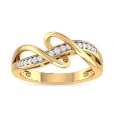 خرید انگشتر طلا نگین دار کد 4249
