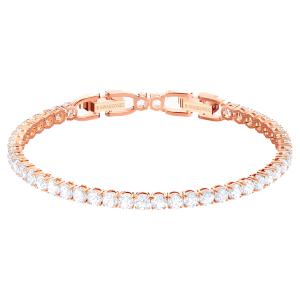 دستبند تنیسی رزگلد لاکچری