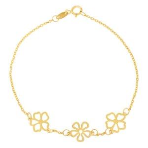 خرید دستبند دخترانه کد 4478