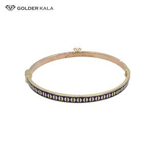 دستبند النگویی طلا زنانه ۲۴۲۴