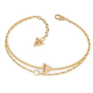 فروش دستبند زنانه طلا طرح مثلث کد 4705