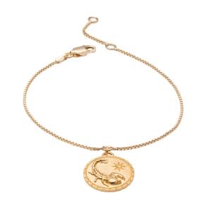 دستبند طلا ماه آبان کد 4723