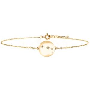 خرید دستبند طلا ماه فروردین کد 4724