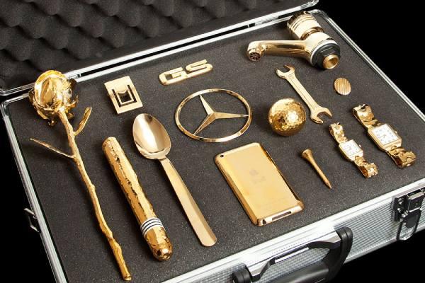انواع روش های آبکاری طلا