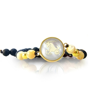 دستبند با نماد ماه دی کد 5521