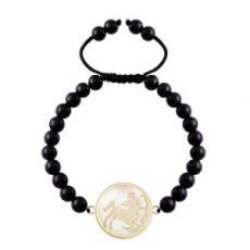 دستبند سمبل ماه آذر کد 5512