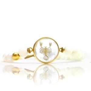 دستبند طلا آبان ماه کد 5466