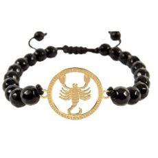 دستبند طلا نماد تیر کد 5347