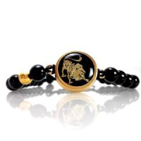 دستبند طلا نماد ماه مرداد کد 5415
