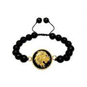 دستبند طلا نماد ماه مرداد کد 5417