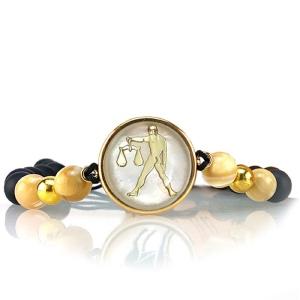 دستبند طلا نماد مهر ماه کد 5447