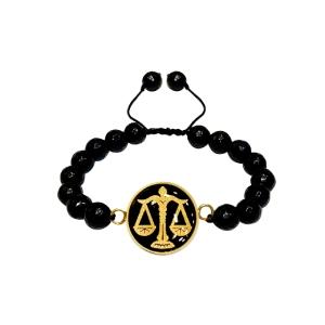 دستبند طلا نماد مهر ماه کد 5451