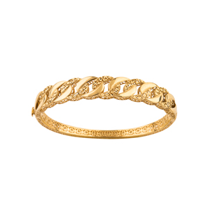 دستبند طلا لاکچری طرح کارتیه