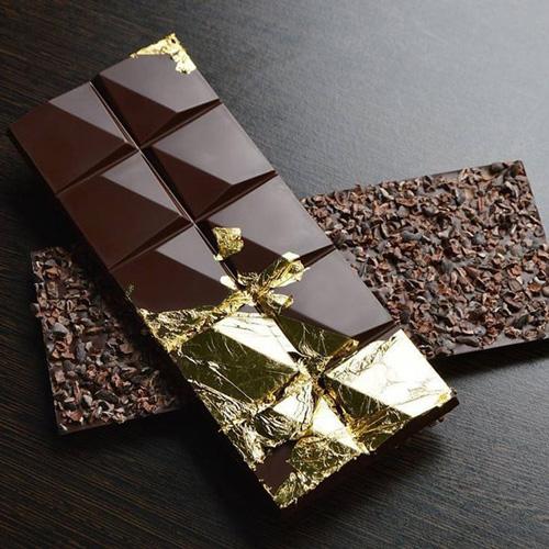 کاکائو با روکش طلا