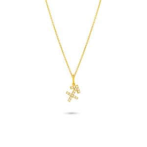 گردنبند طلا آذر ماه کد 5499