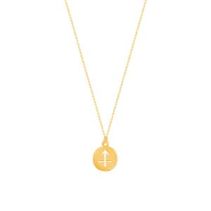 گردنبند طلا ماه آذر کد 5494
