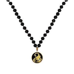 گردنبند طلا نماد عقرب ( آبان ماه ) کد 5492