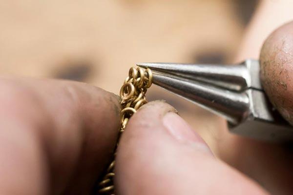 تعمیر دستبند طلا