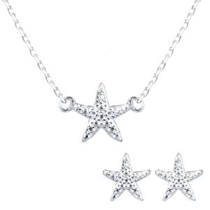 طلا طرح ستاره زنجیردار